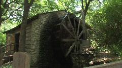 Texas waterwheel Stock Footage