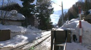 Stock Video Footage of rhaetian railway train