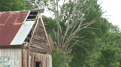 Texas country rural scene - stock footage