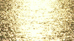 Gold liquid effect Stock Footage