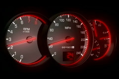 Speedometer NTSC - stock footage