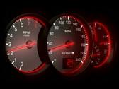 Speedometer NTSC Stock Footage