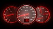 Speedometer HD1080 Stock Footage
