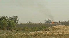 Controlled Detonation in Afghanistan Stock Footage