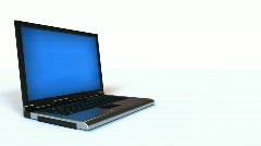 Laptop Computer Opening HD Stock Footage