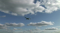 HD1080i Passenger airplane jetliner. Take off. Stock Footage