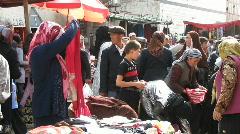 Kashgar market Stock Footage