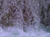 High Speed Camera : Waterfall F 01 Slow Motion x15 Loop Stock Footage