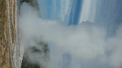 Old Faithful eruption end verticle P HD 2310 Stock Footage
