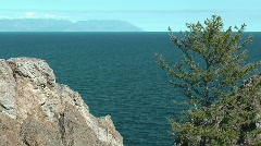 Baikal lake, Olkhon island Stock Footage