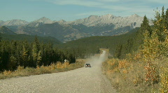 Backcountry Road Stock Footage