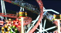 HD1080i Roller coaster on Oktoberfest in Munich. Germany.  Footage