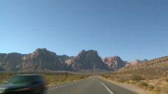 Nevada Desert Drive - intervallikuvaus Arkistovideo
