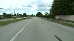 Driving through Housing Subdivision - Time Lapse 1 of 2 Stock Footage