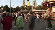 Stock Video Footage of HD1080p Oktoberfest. Munich beer festival 2009