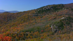 Grandfather mtn fall Stock Footage