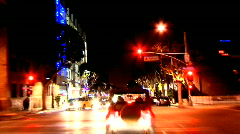 Los Angeles - Car Mounted Camera - Timelapse - Clip 1 Stock Footage
