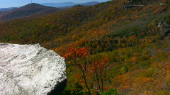 Grandfather mtn fall02 Stock Footage