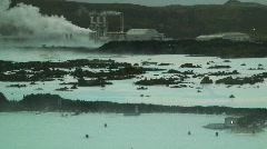 Blue Lagoon, Svartsengi, Iceland Stock Footage