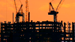 Construction Time Lapse Stock Footage