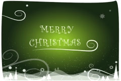 merry christmas background  green ntsc - stock footage