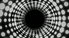 Disco Tunnel (25fps) Stock Footage