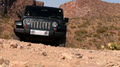 Desert Off-roading 1155 - stock footage
