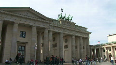 HD1080i Pariser Platz Berlin Stock Footage