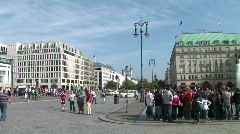 HD1080i Pariser Platz Berlin - stock footage