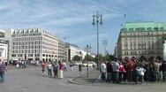 Stock Video Footage of HD1080i Pariser Platz Berlin