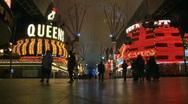 Casino in Las Vegas - Time Lapse Stock Footage