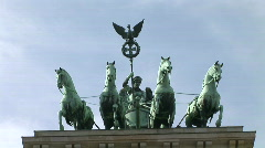 HD1080p Brandenburg Gate Berlin - stock footage