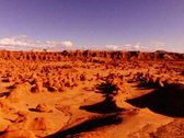 Stock Video Footage of Goblin Valley HS 01 Pan