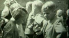 1940s Kids dancing spectacle P.2 - Vintage 8mm Film Stock Footage