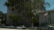 Pasadena Court House Stock Footage