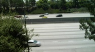 Pasadena Freeway Stock Footage