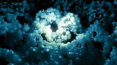 Blob Wave Blue. Stock Footage