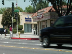 Pasadena Orange Grove Blvd - stock footage