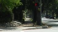 Pasadena Side Street Stock Footage