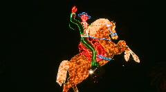 Neon Cowboy Sign in Las Vegas.  - Clip 4 of  20 Stock Footage