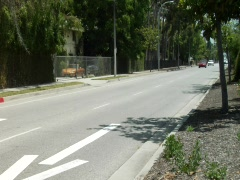 Pasadena Street Traffic Stock Footage
