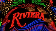 Stock Video Footage of Riviera Neon Signs in Las Vegas.  - Clip 11 of  20
