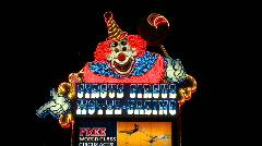 Circus Circus Neon Sign in Las Vegas.  - Clip 20 of  20 Stock Footage