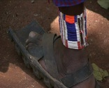 Jewels of the Masai tribe   Stock Footage