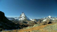Matterhorn,Switzerland  Stock Footage