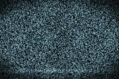 Tv static ghost with noise - stock footage