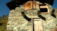 Zermatt meadow, Switzerland Stock Footage