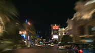 Stock Video Footage of Las Vegas Traffic - Car Camera Mount - Clip 1