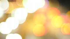 Abstract Out of Focus Lights 02 - stock footage