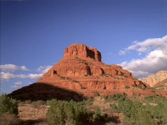 Bell Rock Sunset 640x480 Stock Footage